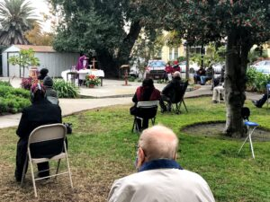 Bilingual New Year Mass @ Parish Garden